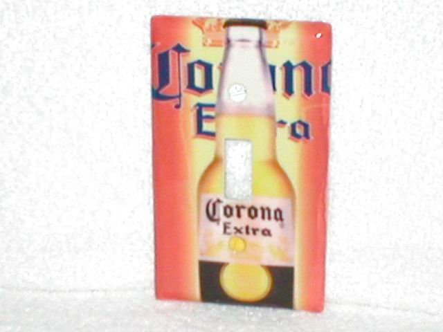 CORONA EXTRA~BAR,PUB STYLE LIGHT SWITCHPLATE(org)