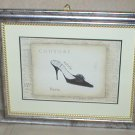 EMILY ADAMS~COUTURE~BLACK HIGH HEEL~FRAMED PRINT