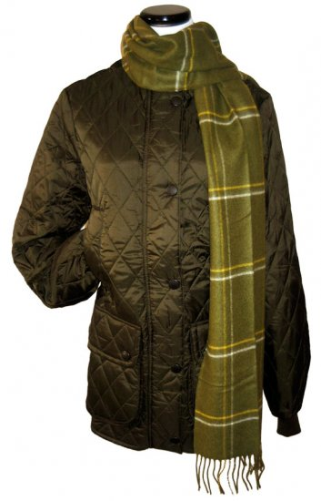Barbour Women's Quilted Keeperwear Jacket - UK 10 - US 6 - Olive
