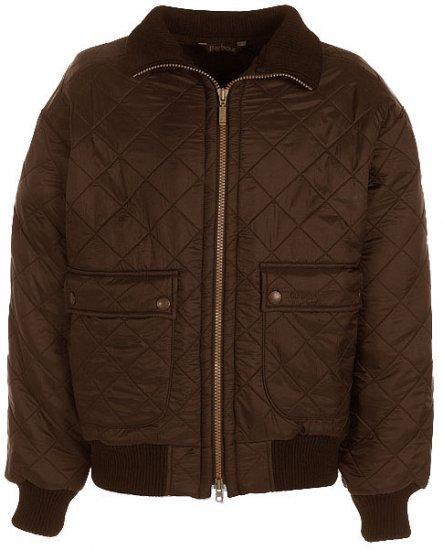 Barbour Men's Flyer Polarquilt Jacket - UK XXL - US 44/46 - Brown