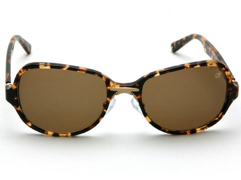 Proenza Schouler Retro Angled Sunglasses - Tortoise