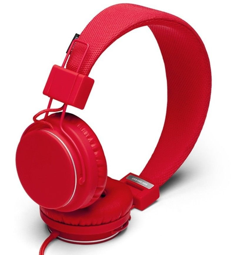 Urbanears Plattan Plus Headphones (Red)