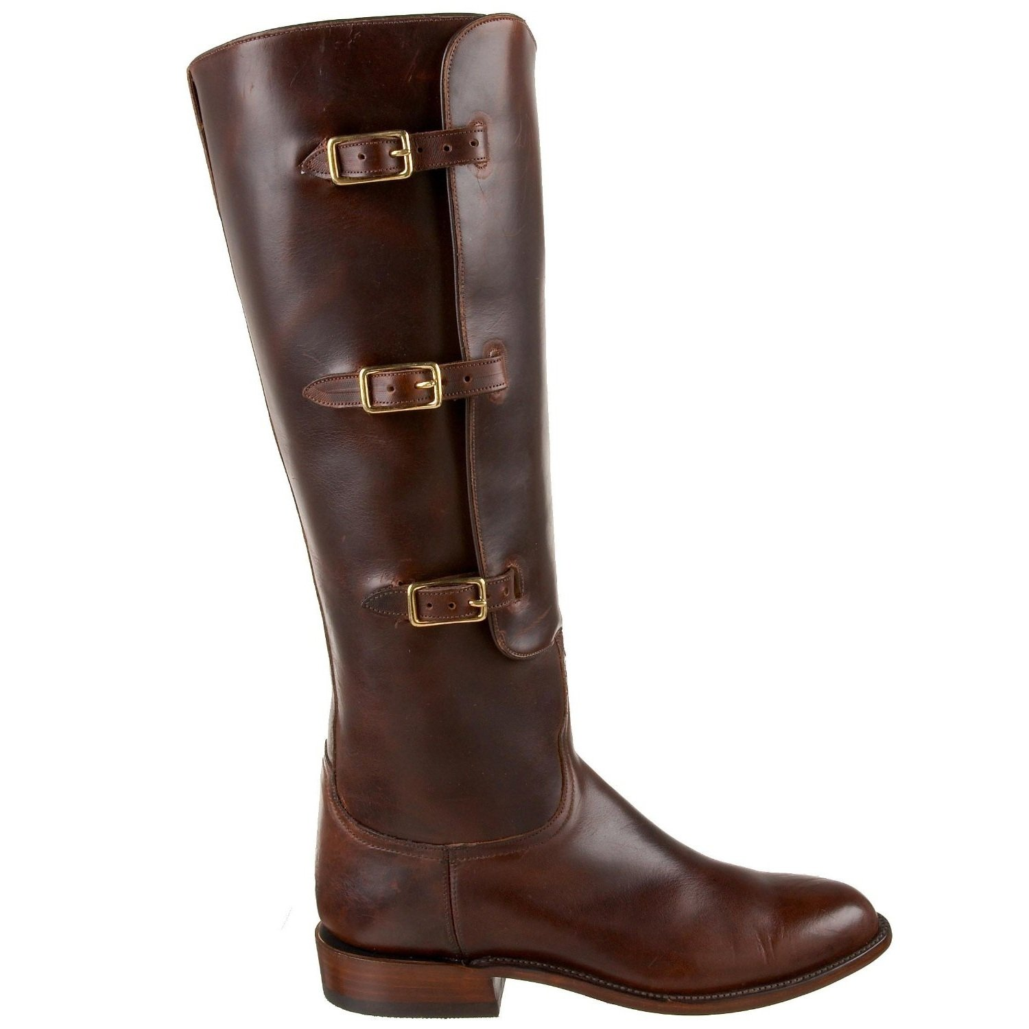Lucchese Classics Lieutenant Polo Riding Boot - Chocolate - US 9