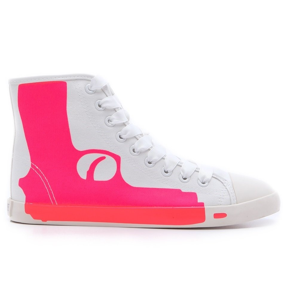 Maison Dumain by Be & D Pistol Sneaker - Fuchsia - 38