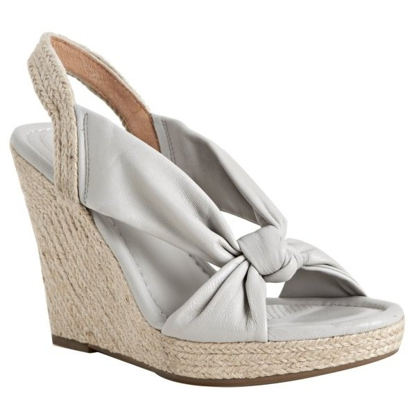 Corso Como Doze Espadrille Wedge - US 9.5 - Light Grey