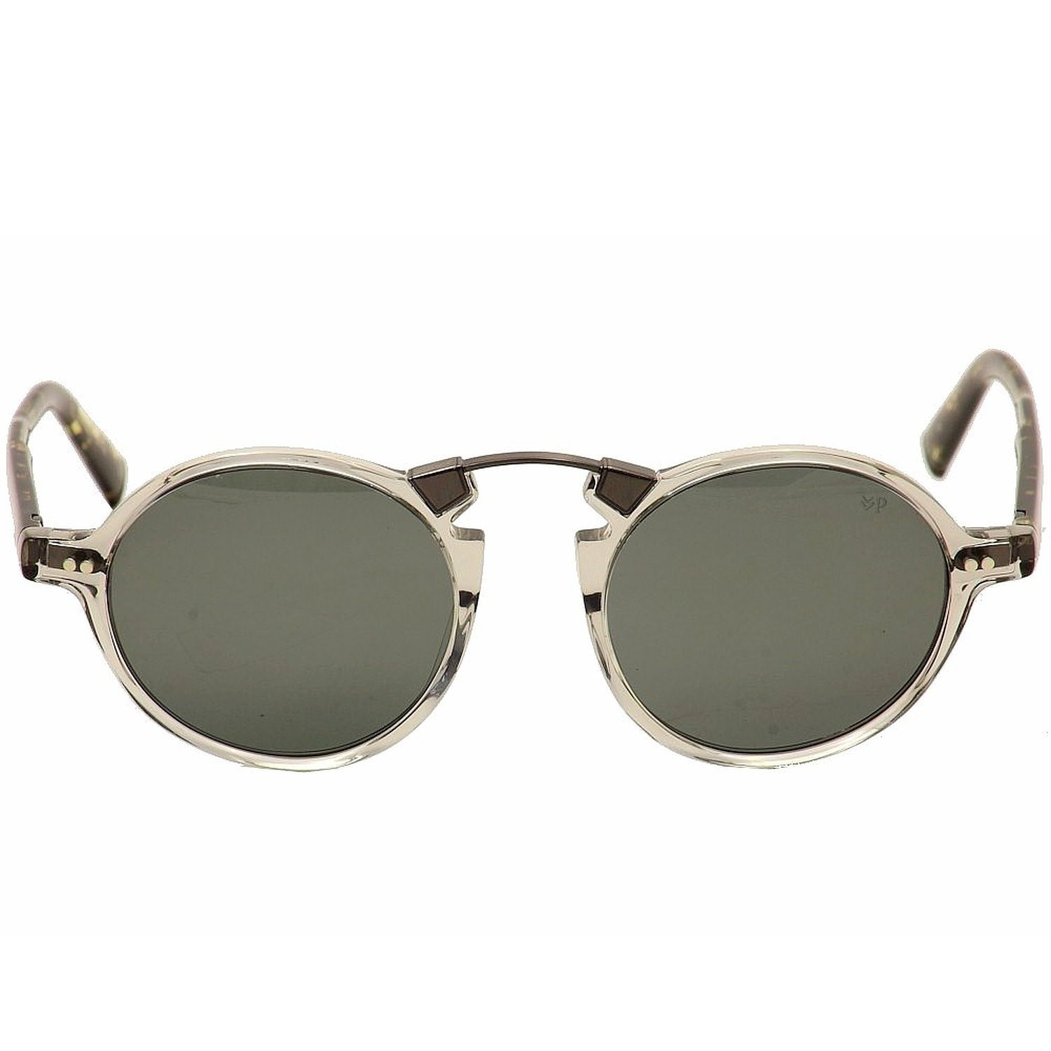 John Varvatos Crosby Polarized Sunglasses - Grey Crystal
