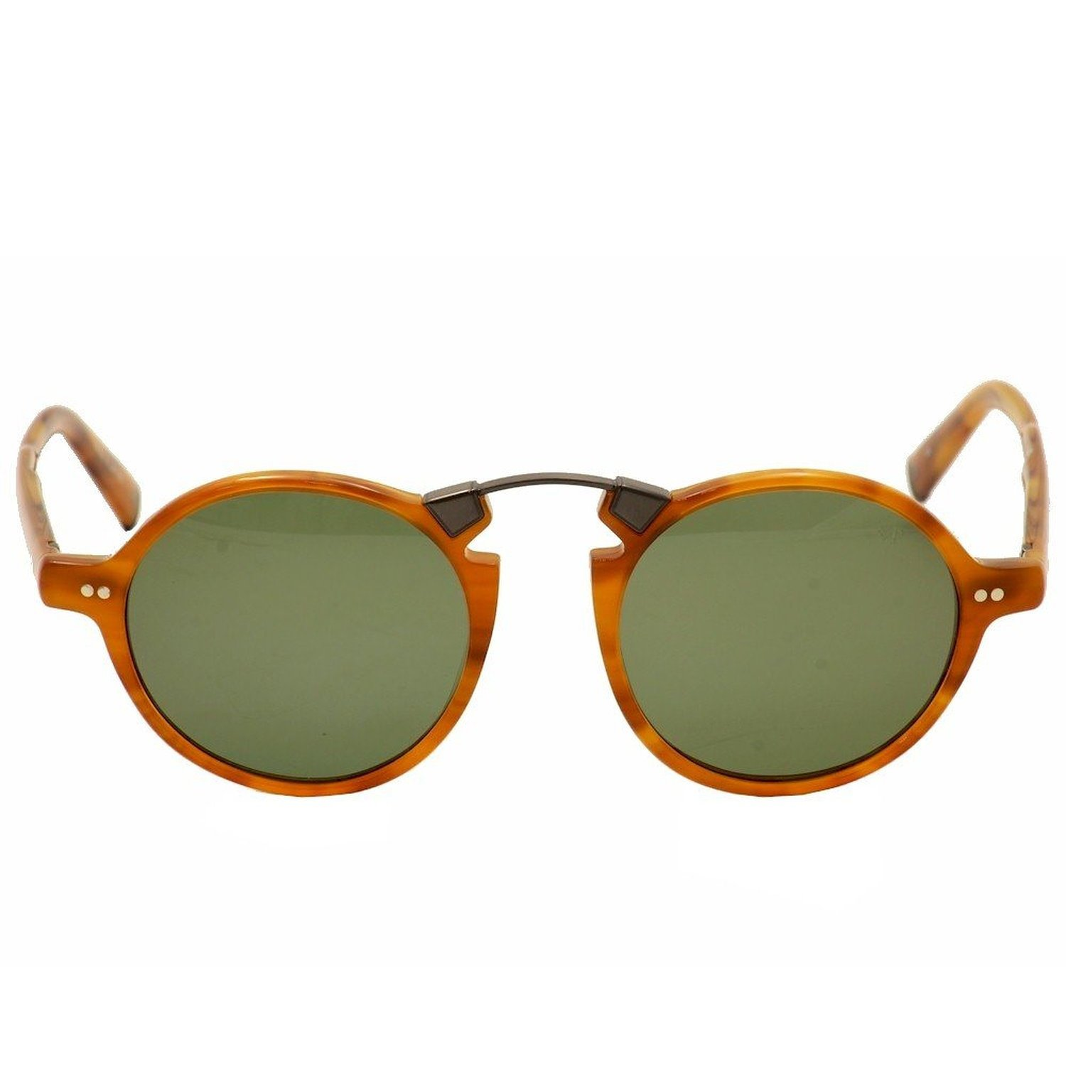 John Varvatos Crosby Polarized Sunglasses - Butterscotch