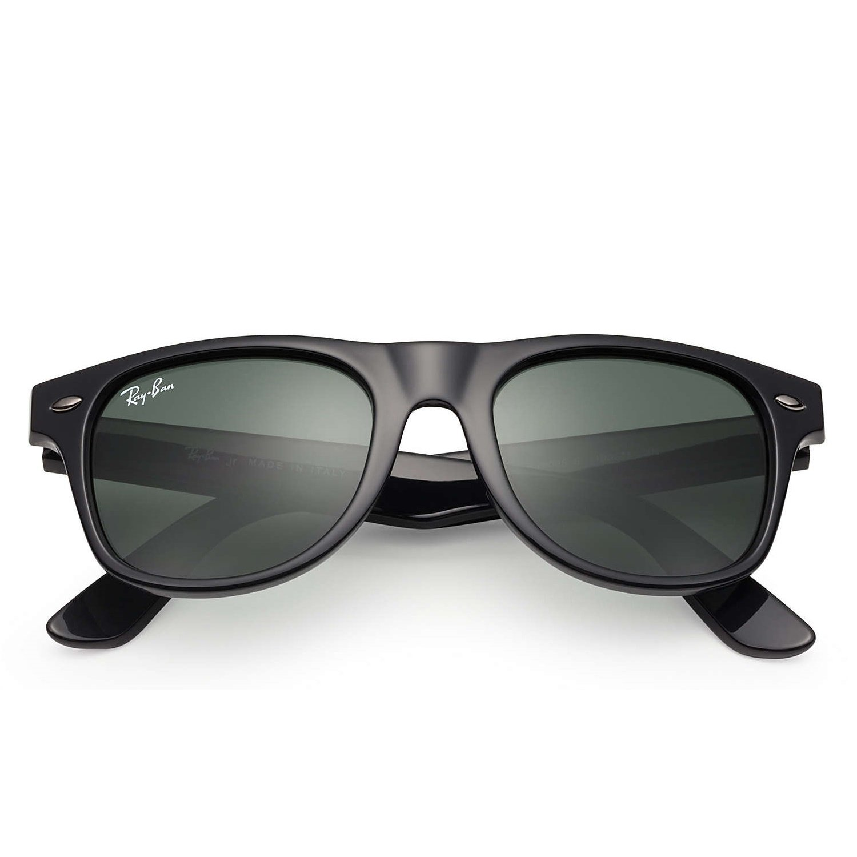 Ray-Ban Jr Wayfarer Sunglasses - Black - 44mm