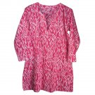 Nusantara Cotton Ikat Tunic - M (US 8) - Pink