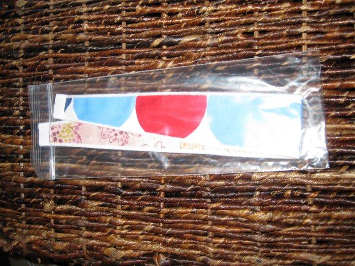 Patriotic and Strawberry Sorbet 1.5 inch Alice Wrap