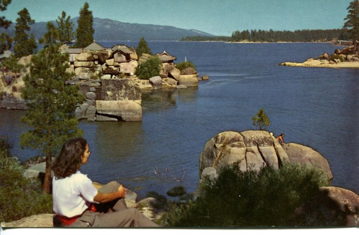 Union Oil Company Big Bear Lake California Post Card