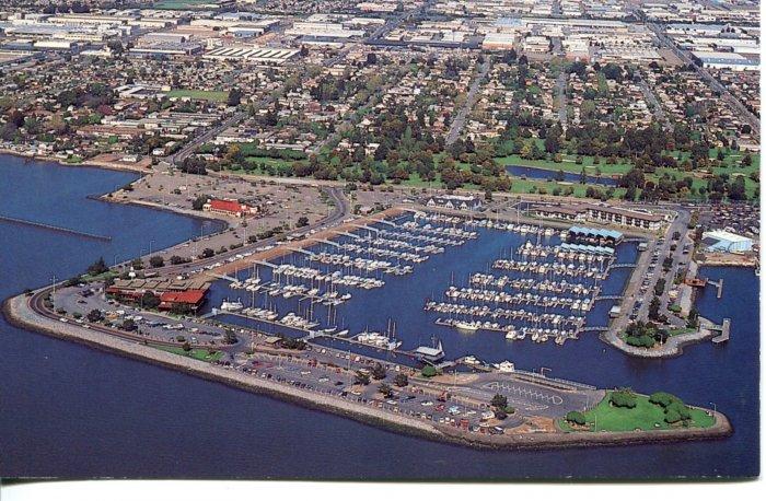 San Leandro Marina California  Post Card
