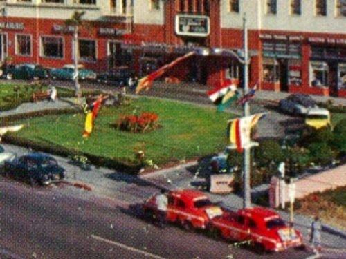 Wilton Hotel Long Beach California Postcard