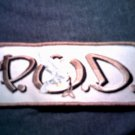 P.O.D. iron-on PATCH dove logo payable on death pod