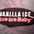 VANILLA ICE iron-on PATCH Ice Ice Baby VINTAGE