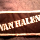 VAN HALEN iron-on PATCH B&W logo =vh= VINTAGE