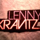 LENNY KRAVITZ iron-on PATCH color logo VINTAGE