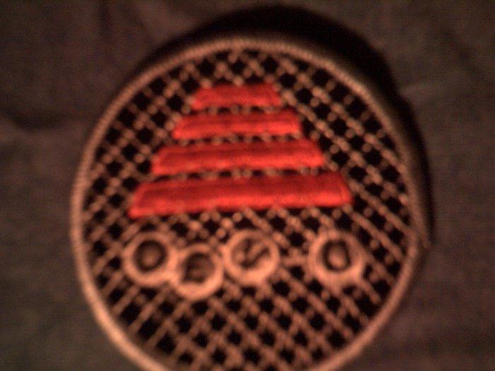 DEVO iron-on PATCH round hat logo VINTAGE