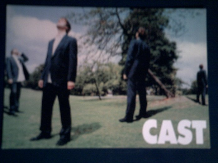 CAST POSTCARD color band pic IMPORT SALE