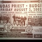 CONCERT FLYER Judas Priest Budgie Oz Knozz texas