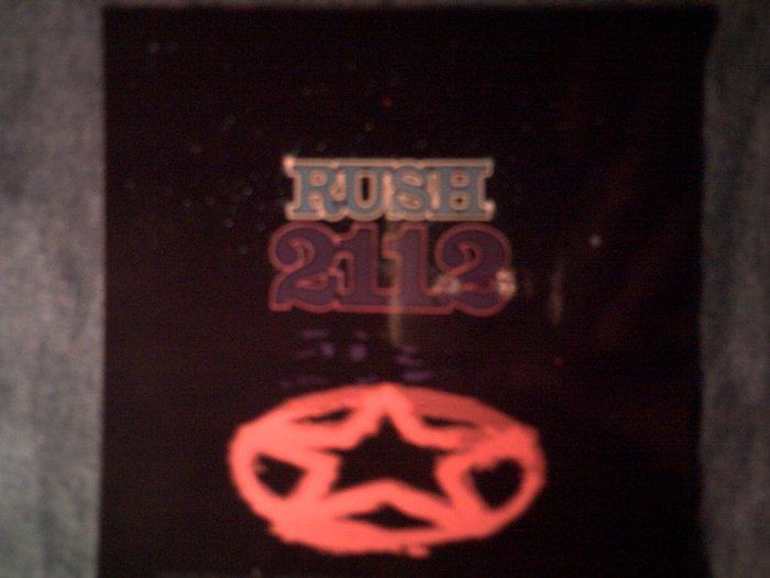 RUSH STICKER 2112 album art NEW!