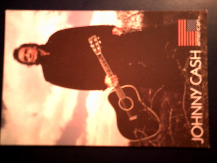JOHNNY CASH POSTCARD pic American