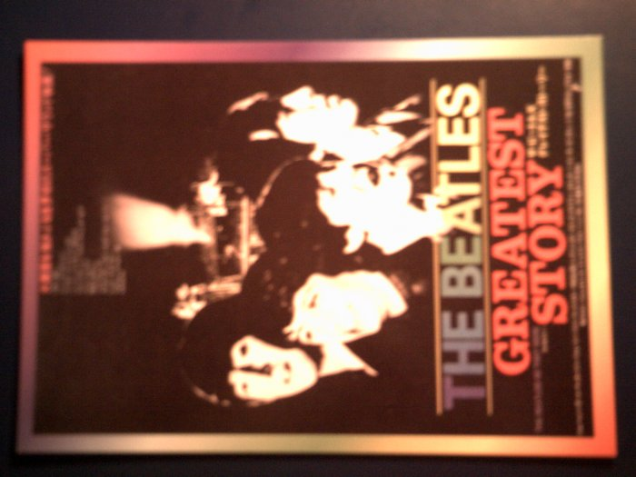 THE BEATLES POSTCARD Greatest Story japan post card IMPORT