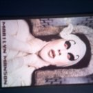 MARILYN MANSON POSTCARD white face IMPORT