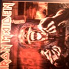 IRON MAIDEN STICKER Real Dead One radio 666