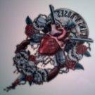 GUNS N ROSES DECAL not STICKER human heart logo VINTAGE