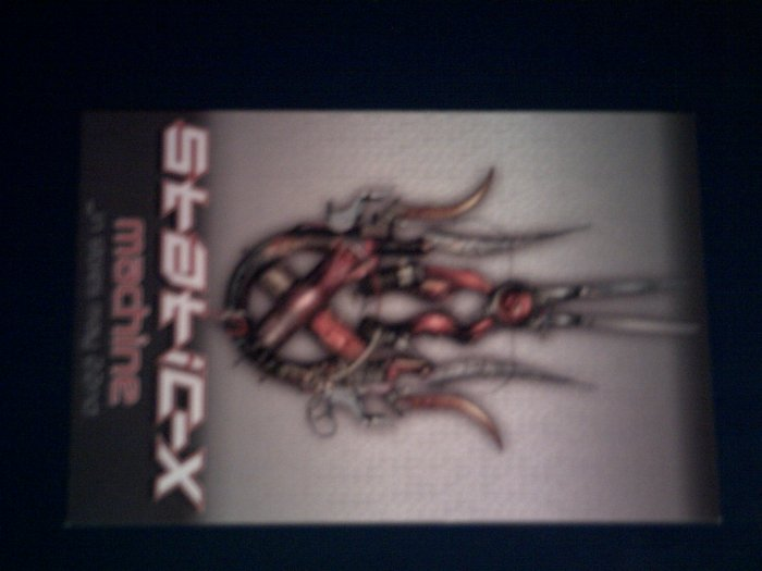 STATIC X POSTCARD Machine staticx PROMO