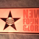 NEW FOUND GLORY STICKER globe/star logo SALE