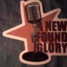 NEW FOUND GLORY STICKER mike logo