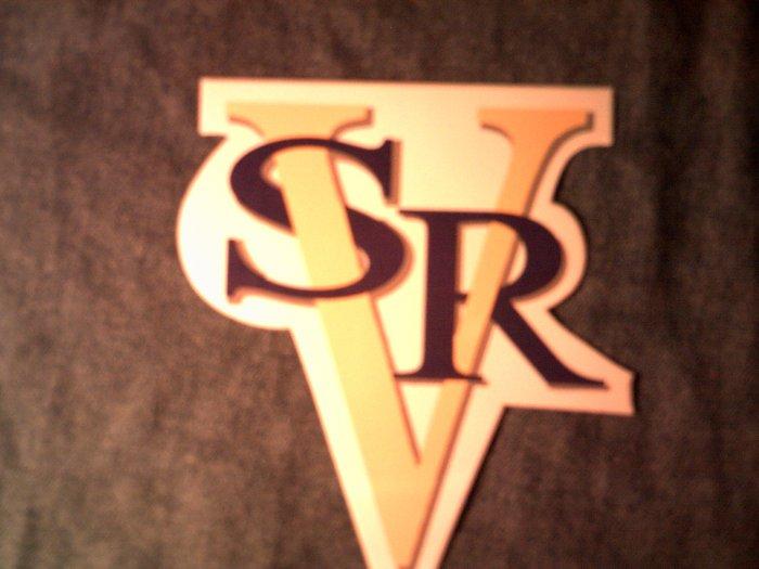 STEVIE RAY VAUGHAN STICKER color srv logo NEW!