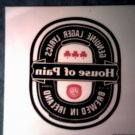 HOUSE OF PAIN DECAL not STICKER Lager Lyrics Brewed in Ireland everlast VINTAGE