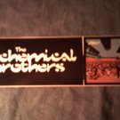 THE CHEMICAL BROTHERS STICKER Surrender PROMO SALE