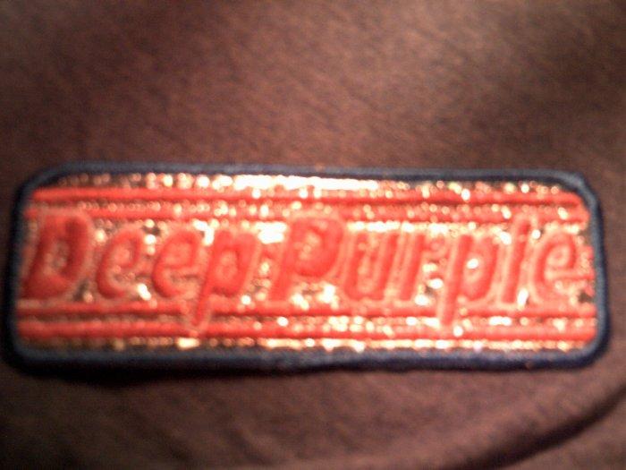 DEEP PURPLE iron-on PATCH prism logo blackmore VINTAGE 70s!