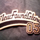 NEW FOUND GLORY iron-on PATCH baseball logo NEW
