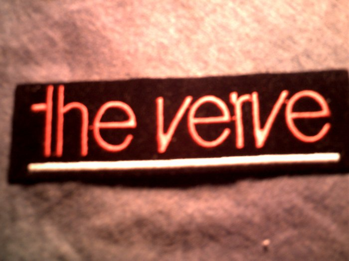 THE VERVE iron-on PATCH logo VINTAGE 90s!