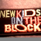 NEW KIDS ON THE BLOCK iron-on PATCH nkotb logo VINTAGE 80s