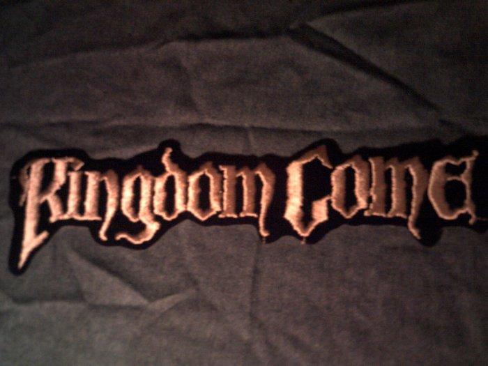 KINGDOM COME iron-on PATCH classic logo VINTAGE JUMBO