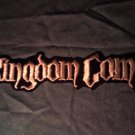 KINGDOM COME iron-on PATCH classic logo VINTAGE JUMBO