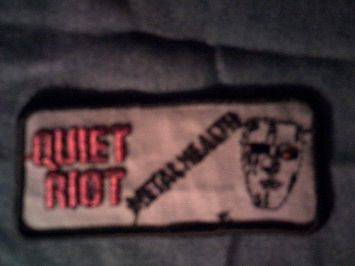 QUIET RIOT iron-on PATCH Metal Health VINTAGE 80s!