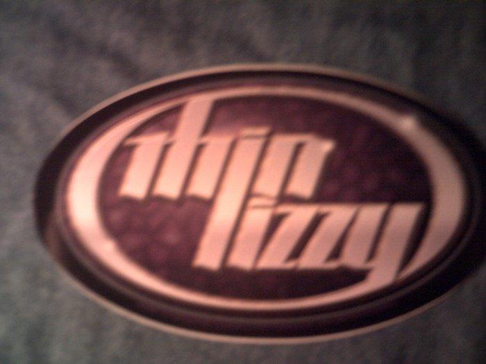 THIN LIZZY STICKER oval logo sykes