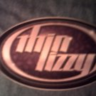 THIN LIZZY STICKER oval logo sykes