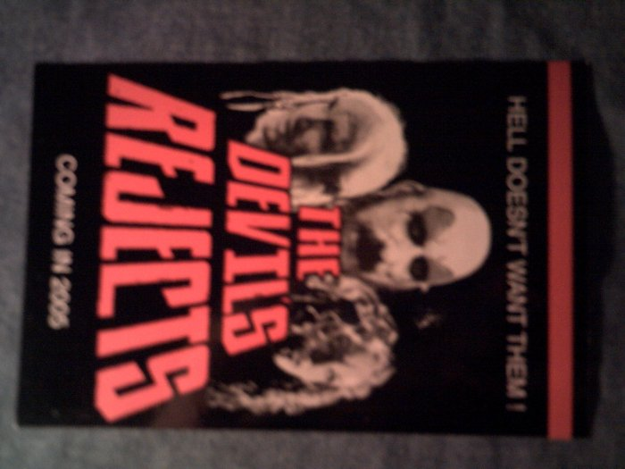 THE DEVILS REJECTS STICKER postcard 1000 corpses zombie PROMO
