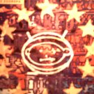 U2 STICKER Zooropa album art bono