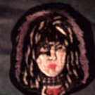 KISS iron-on PATCH Paul Stanley face purple VINTAGE 80s!