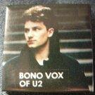 U2 PINBACK BUTTON bono vox pic VINTAGE