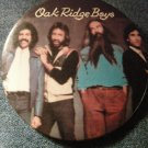 OAK RIDGE BOYS PINBACK BUTTON color band pic country VINTAGE